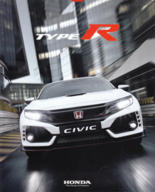 Civic Type R, 32 page brochure, 21 x 26 cm, German language, 12/2018