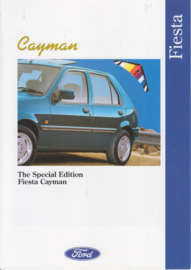 Fiesta Cayman brochure, 6 pages, 10/1993, English language, UK