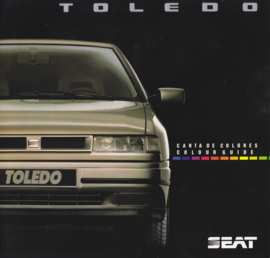 Toledo colour guide brochure, 4 pages, German language, about 1992