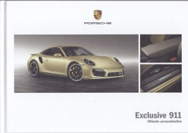 911 Exclusive brochure, 56 pages, 09/2013, hard covers, English