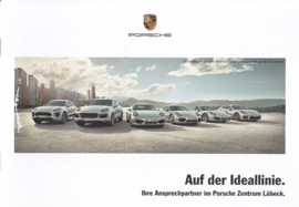 Lübeck PC dealer brochure, 8 pages, about 2014, German language