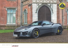 Evora 410 Sport, 4 pages, DIN A4-size, factory-issued, German language