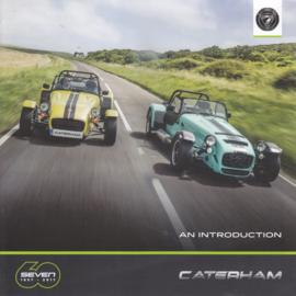 Caterham Seven model range brochure, 6 square pages, 2017, English language
