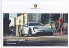 Taycan Turbo S/Turbo, 92 pages, 10/2019, German language, hard covers