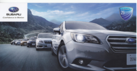postcard set with 6 cards, issued Autoshow Geneva 2014, size 21 x 10,5 cm, English