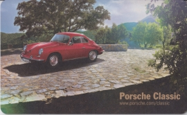 Porsche Classic - 356 Coupe, factory-issued breakfast plate, unused
