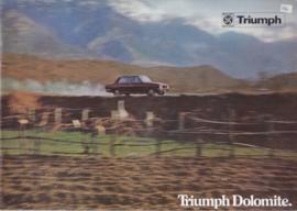 Dolomite Sedan brochure, 20 large pages, 1970 (J-plate), Dutch language