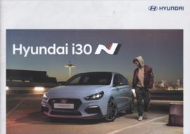 i30 N Hatchback brochure, 12 pages, 12/2017, Dutch language