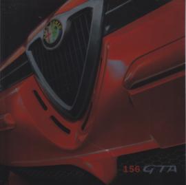 156 & Sportwagon GTA brochure, 38 square pages, 02/2002, German language