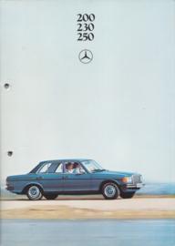 200/230/250 Sedans brochure, 48 pages, 04/1979, Dutch language
