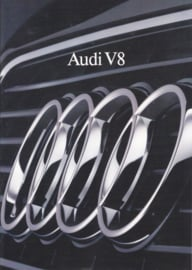 V8 Sedan brochure, 12 pages, 09/1988, German language