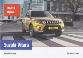 Vitara brochure, 28 pages, #81018, 10/2018, Dutch language