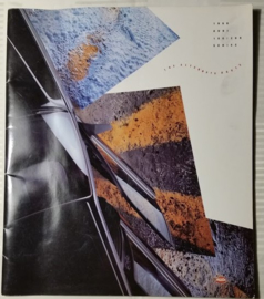 Audi 100/200 USA large sales brochure, 32 pages, 1990, English language