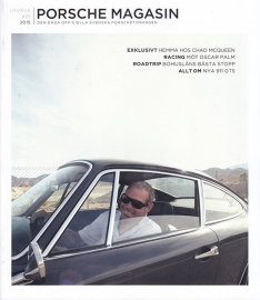 Porsche Magasin, Swedish language, # 25, 2015, 100 pages