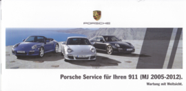 911 Service brochure, 16 pages, 05/2015, German language
