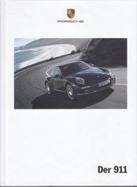 911 Carrera brochure, 182 pages, 11/2010, hard covers, German