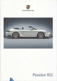 911 Carrera brochure, 156 pages, 07/2003, hard covers, German
