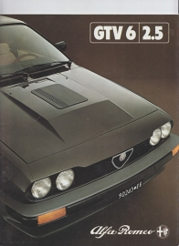 GTV 6/2.5 brochure, 26 pages, 12/1980, # 1131, Dutch