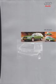 A4 Avant brochure, 16 pages, 11/1995, German language