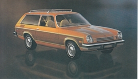 Vega Estate Wagon,  US postcard, standard size, 1977
