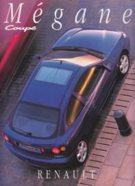 Mégane Coupé brochure, 48 pages, 04/1996, Dutch language