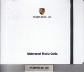 Porsche Motorsport 2016, memory stick with pictures & small booklet, factory-issued,  German/English