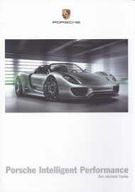 Porsche Intelligent Performance with 918, 28 pages, 03/2010, German language