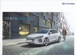 Ioniq Electric brochure, 16 pages, 10/2016, Dutch language
