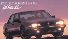 Bonneville SSE, 1989, standard-size, USA