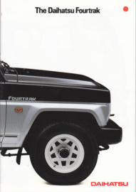 Fourtrak brochure, 18 pages, about 1993, English language