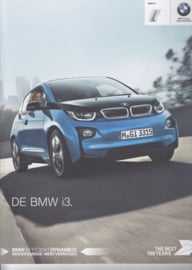 i3 electro car brochure,  52 pages, 2-2016, Dutch language