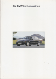 3-Series Sedans brochure, 38 pages, A4-size, 2/1993, German language