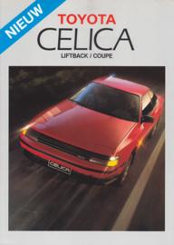 Celica Liftback/Coupe brochure, 4 pages, 1987, Dutch language