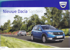 Sandero  & Sandero Stepway brochure,  24 pages, A4-size, 04/2014, Dutch language
