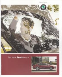 Superb Sedan brochure, 42 pages, German language, 06/2008