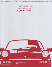 911 Carrera 2 Tiptronic, 6 pages, 01/1990, German language