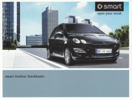Forfour Blackbasic brochure, 6 pages, 01/2004, French language