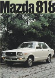 818 Sedan/Coupé/Estate brochure, 8 pages, about 1973, Dutch language