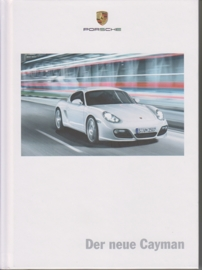 Cayman brochure, 140 pages, 08/2008, hard covers, German