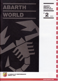 Abarth World, 68  pages, DIN A5-size, 03/2012, Dutch language