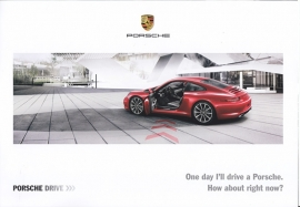 911 Carrera hire car - folder, 4 pages, 05/2014, English