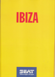 Ibiza brochure, 32 pages, 9/1994, A4-size, German language