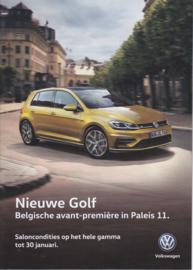 Program brochure, A4-size, 24 pages, Dutch language, 01/2017 (Belgium)