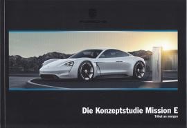 Mission E concept study brochure, 44 pages, 09/2015, German language