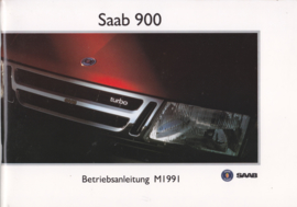 900 model Owners Manual, 84 pages, 1991, German language