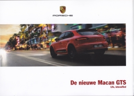 Macan GTS brochure, 36 pages, 10/2015, Dutch