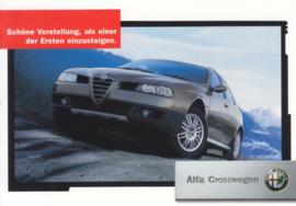 Crosswagon postcard, DIN A6-size, German language, approx. 2004