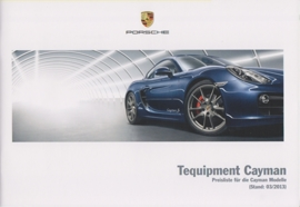 Cayman Tequipment pricelist, 44 pages, 03/2013, German