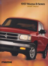 B-Series Sport Truck brochure, 16 pages, 09/1996, USA, English language