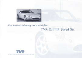 Griffith Speed Six leaflet (A4), 2 pages, about 1996, Dutch language *